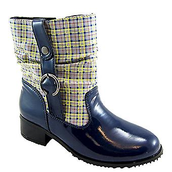 Beacon Shoes Womens Drizzle Closed Toe Ankle Fashion Boots