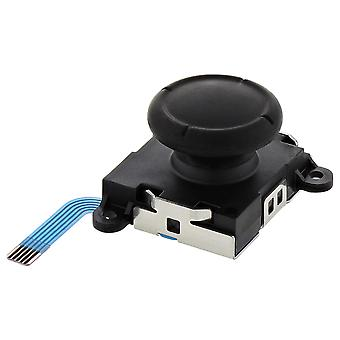 Replacement analog joystick for switch oem nintendo joy-con controller 3d button module - black