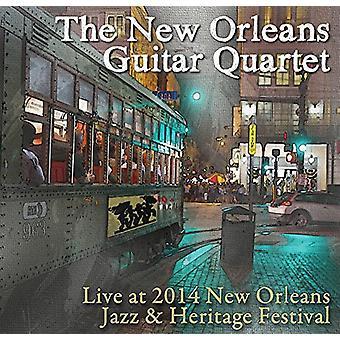 New Orleans Guitar Quartet - Live at Jazz Fest 2014 [CD] USA import