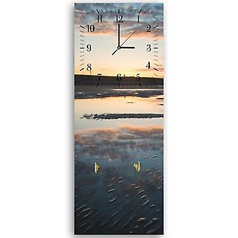 Decorative clock with hanger, Beach