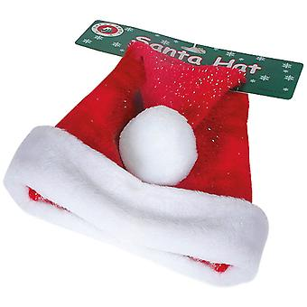 Tomte Luva Santa hat voksen