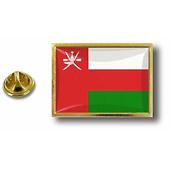 pins pin badge pin's metal  avec pince papillon drapeau oman sultana