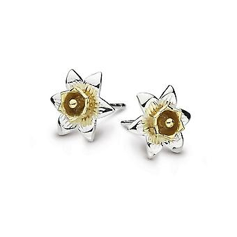 Kit Heath Heritage Heritage Carey Daffodil Gold Plate Earrings 4230GD024