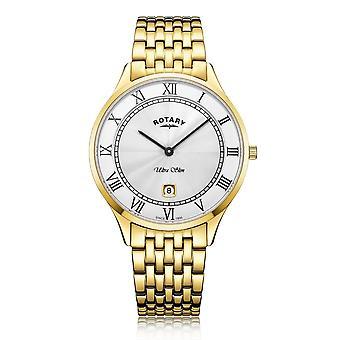 Rotary GB08303-01 Men's Ultraslim Wristwatch