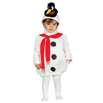 Taaperat pikku lumi ukko syntymä joulu fancy mekko puku