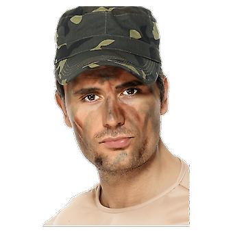 Army Makeup Camo Face Paint Camouflage Fancy Dress