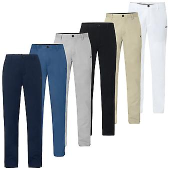Oakley Mens Chino Icon 4 Pocket Stretch Durable Golf Trousers
