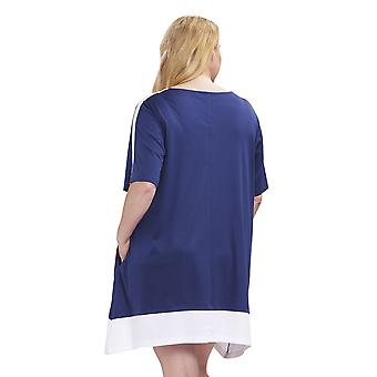 1194653-16516 Femmes-apos;s Curve Dark Blue Nightdress