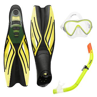 Gul Unisex Mask Snorkel and Fin Set Children