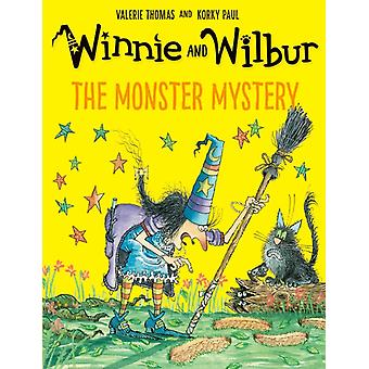 Winnie and Wilbur The Monster Mystery PB by Valerie Thomas