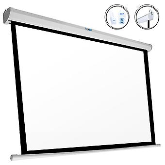 Panoramic Electric Screen iggual PSIPS243 110& (243 x 137 cm) Valkoinen