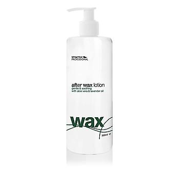Strictly professional after wax lotion with a vera & lavender 500ml