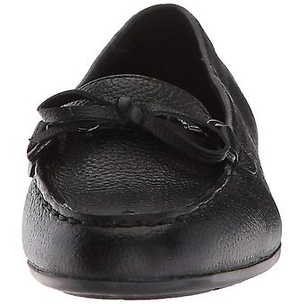 Easy Spirit Womens seANTIL Leather Almond Toe Loafers