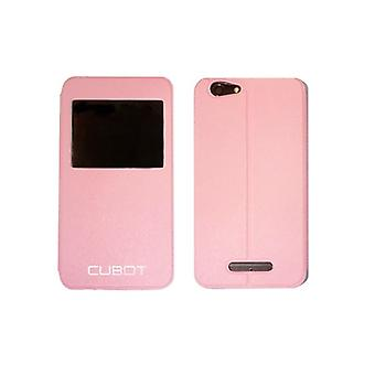 Protection for mobile phone Cubot CUB - FLRS - NOTES Rose