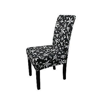 FP7 - Floral Printed Short Spandex Chair Cover