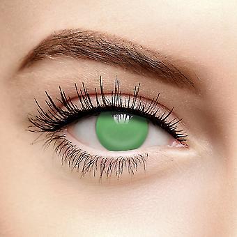 Grønn Blind Farget Kontaktlinser (Daglig)