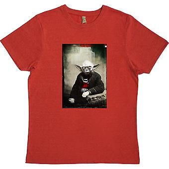 Yoda Barscarf Red 100% Recycled T-Shirt