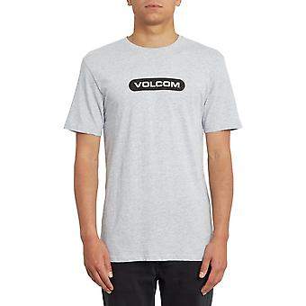 Volcom Nuovo Euro Short Sleeve T-Shirt in Heather Grey
