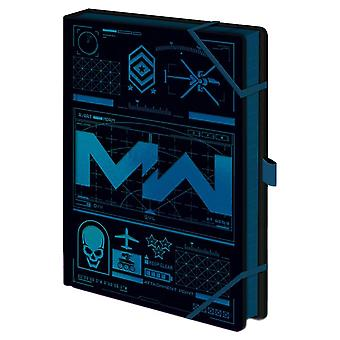 Call of Duty Modern Warfare Icons A5 Premium Notebook