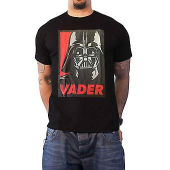 Official Mens Star Wars T Shirt Darth Vader Poster Join us or Die new Black