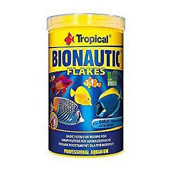 Tropiska Bionautic flingor 250 Ml (fisk, mat, saltvatten)