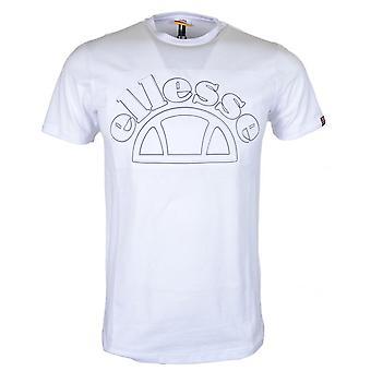 Ellesse Opizzi White Cotton T-shirt