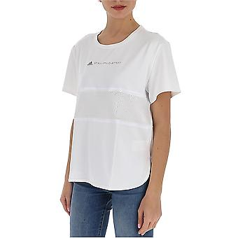 Adidas by Stella Mccartney Ea2173 Damen's weißes Polyester T-shirt