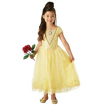 Disney Princess Girls Live Action Belle Deluxe puku