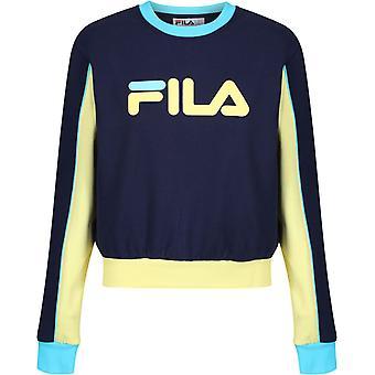 フィラヌリア カラーブロック スウェットシャツ ネイビー 29