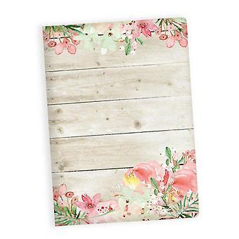 Piatek13 - Art journal Love in Bloom P13-257 A5