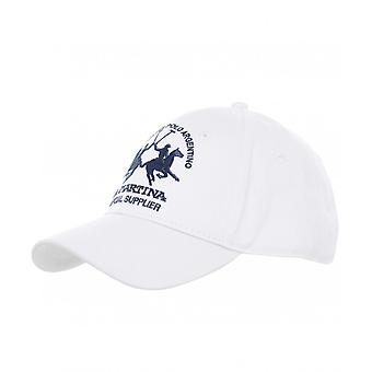 La Martina Cotton Logo Cap