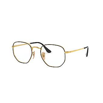 Ray-Ban RB6448 2991 Top Black On Gold Glasses