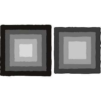 Marianne Design Craftables Cutting Dies - Basic Distressed Square CR1375