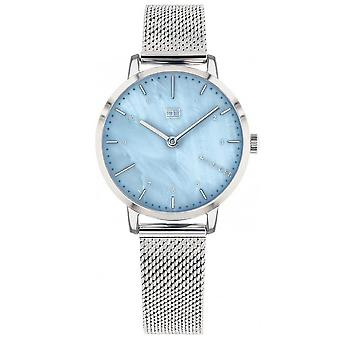 Tommy Hilfiger Watches 1782041 Ladies Silver Lily Mesh Strap Watch