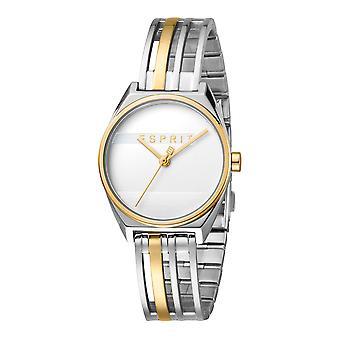 Esprit ES1L059M0045 Shift TT Gold Silver-Watch til kvinder