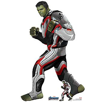 Hulk Quantum Suit Marvel Avengers: Endgame Official Mini Cardboard Cutout