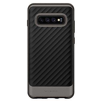 Spigen Backcover Hoesje Neo Hybrid Samsung Galaxy S10 - Grijs