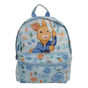 Children's Peter Rabbit Character Blue Roxy Backpack