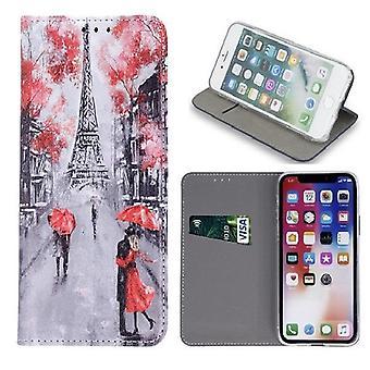 Samsung Galaxy A50 - Smart Trendy Mobilplånbok - Lovers in Paris