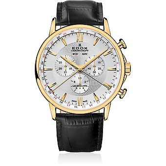 Edox - Wristwatch - Men - Les Bémonts - Chronograph Complication - 10501 37J AID