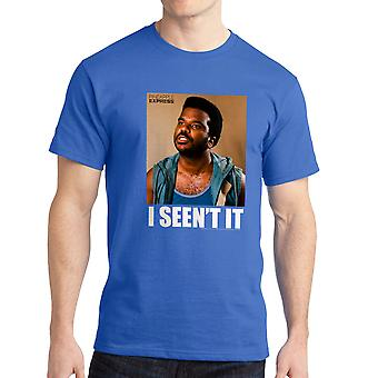 Pineapple Express I Seen't It Quote Men's Royal Blue T-shirt