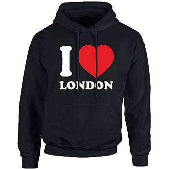 I Love London Funny Unisex Hoodie 10 Colours (S-5XL) by swagwear