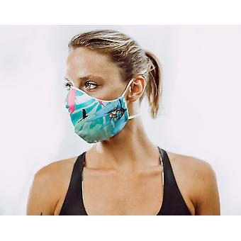 Non-Medical Face Mask | 1. Tropical - M ( fits most teenagers, adults 165-180 cm )
