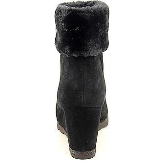 Alfani Womens Oreena Leather Closed Toe Ankle Cold Weather Boots
