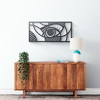 Metal Wall Art - Geometric Eye