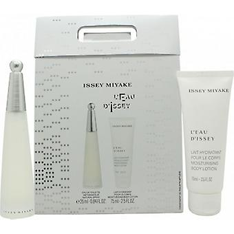 Issey Miyake L'Eau D'Issey Gift Set 25ml EDT + 75ml Body Lotion