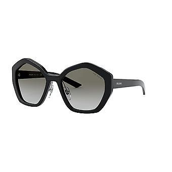 Prada SPR08X 1AB0A7 Черные/серые градиентные солнцезащитные очки