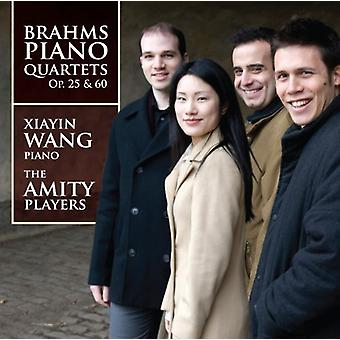 J. Brahms - Brahms: Piano Quartets, Opp. 25 & 60 [CD] USA import