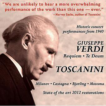 G. Verdi - Verdi: Requiem; Te Deum [CD] USA import