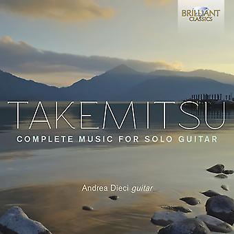 Takemitsu / Dieci - Takemitsu / Dieci: Complete Music for Solo Guitar [CD] USA import